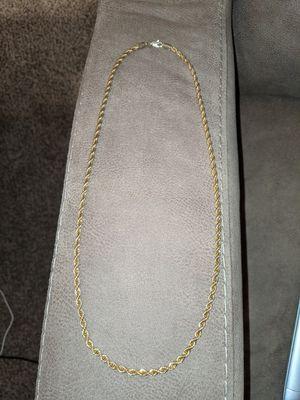 14k Men's Gold Chain for Sale in KS, US
