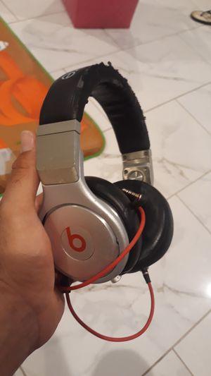 Monster Beats by Dr Dre Beats Pro Professional Headphones - Black for Sale in Glendale, AZ