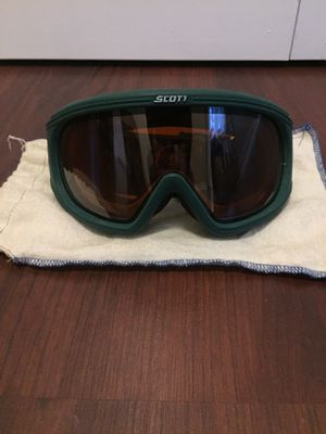 Scott Outdoor Winter Sports Goggles w/ Fabric Pouch for Sale in Littleton, CO