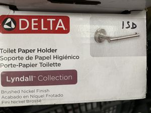 Delta lyndall toilet paper holder new for Sale in Norwalk, CA