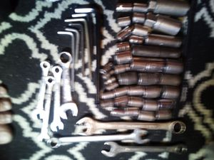 A Set of Socket,, 6 Wrenches, 6 Hex Keys. for Sale in Anaheim, CA