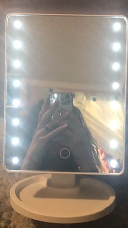 Vanity Mirror With adjustable Dimmer Switch for Sale in Trent Woods,  NC