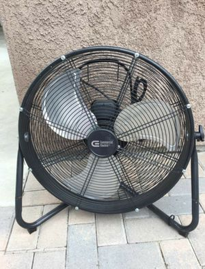 Commercial Electric 20 in. 3 Speed High Velocity Floor Fan for Sale in La Habra, CA