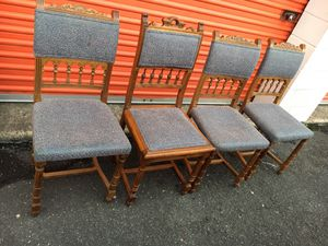 Antique Chair (4) for Sale in Falls Church, VA