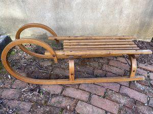 Rams Head German Antique Sled for Sale in Roanoke, VA