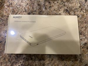 AUKEY USB C Power Bank, 20000mAh Portable Charger USB C, Slimline Type C Battery Pack with 3 Input & 4 Output Compatible with iPhone Xs/XS Max/ 8/ Pl for Sale in Winter Garden, FL