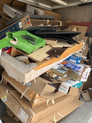 Free Giant Pile of Cardboard Boxes for Sale in East Los Angeles, CA