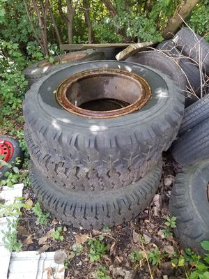 Tractor tires. Six of them for Sale in Chicago, IL