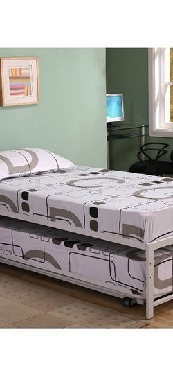 Twin Trundle Bed And Mattresses for Sale in Philadelphia,  PA