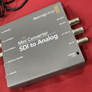 Blackmagic Design Mini Converter SDI to Analog - $100 obo 2 available Had to update our equipment. In perfect, working condition. All ports are clean for Sale in Concord, CA