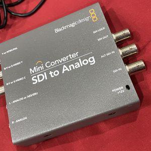 Blackmagic Design Mini Converter SDI to Analog for Sale in Concord, CA