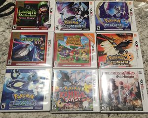 Nintendo 3DS Games Pokemon for Sale in Winston-Salem, NC