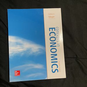 Econ 101 Textbook For Brookdale Community College for Sale in Marlboro Township, NJ
