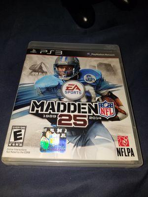 Madden 25 PS3 for Sale in Pleasanton, CA