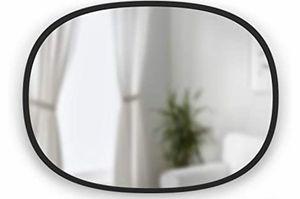 Umbra Hub Oval Wall Mirror, 18 x 24-Inch, Black for Sale in Martinez, CA