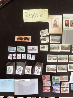 Russia mix lot stamps collectible vintage for Sale in Gilroy, CA
