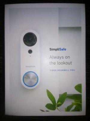 Simpli-Safe Video Doorbell Pro. Smart Wi-Fi Ready. for Sale in Marlborough, MA