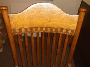 Wooden rocker for Sale in Southern View, IL