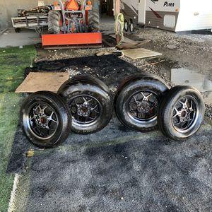 """15"""" Black Chrome Racestar Drag Pack for Sale in Arlington, TX"""