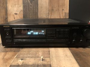 ONKYO quartz synthesized Tuner Amplifier TX-8210 for Sale in Fresno, CA