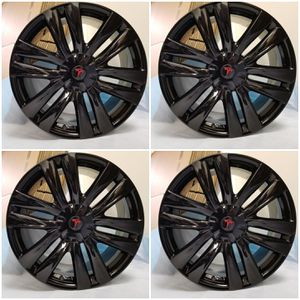 "Model X Tesla 20"" OEM Wheels Rims Black for Sale in Los Angeles, CA"