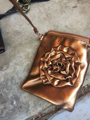 Small purse bronze purse for Sale in Poway, CA