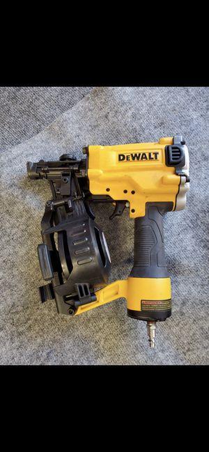 Dewalt roofing nail gun for Sale in Rialto, CA