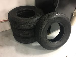 Four Goodyear Marathon Trailer tires for Sale in Windsor Locks, CT