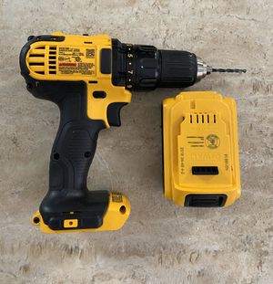 cordless drill with battery for Sale in Medley, FL