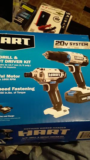 Brushless impact and drill for Sale in Dallas, TX