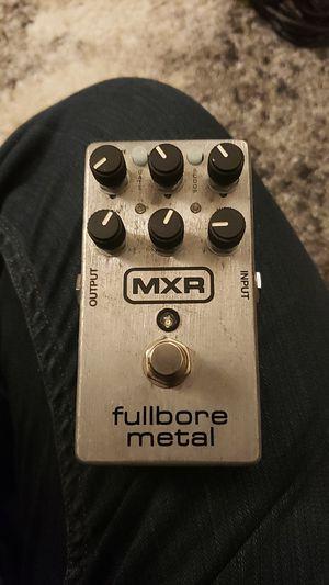 MXR Fullbore Metal Distortion Pedal for Sale in Seattle, WA