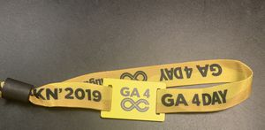 One General Admission Wristband for all 4 days of Lockn' Festival for Sale in Raleigh, NC