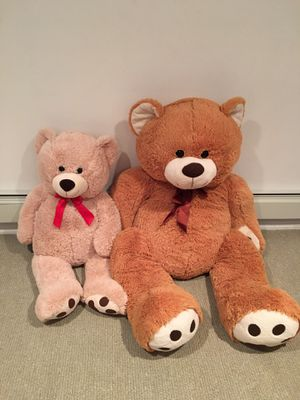Teddy bear duo- Great Christmas surprise! for Sale in Bergenfield, NJ