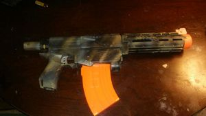 Used, Custom painted nerf gun with banana mag for Sale for sale  Greensboro, NC