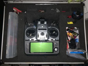 Futaba T12ZH 12 Ch. Remote Transmitter with Original carrying case for Sale in Miami, FL