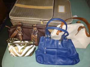 WOW Today only REAL COACH luggage n handbags!! for Sale in Jamaica, NY
