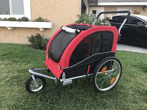 Dog Stroller w/ Bike attachment for Sale in Los Alamitos, CA