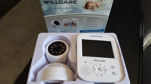 Willcare wireless digital video baby monitor dbm-35 for Sale in St. Louis, MO