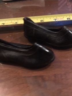Antique Doll Shoes - Rubber Black for Sale in Boring,  OR
