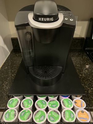 Keurig K-Classic Coffee Maker with K-Cup Holder for Sale in Lutherville-Timonium, MD