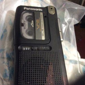 mini cassette recorder for Sale in Milton, FL
