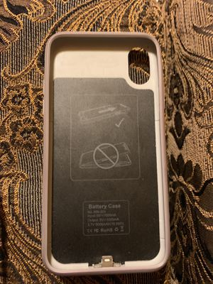 iPhone X battery charger case for Sale in San Diego, CA