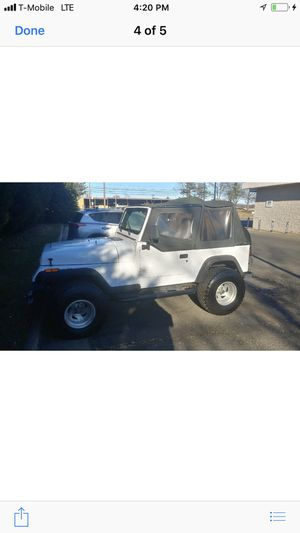 1994 Jeep Wrangler manual transmission 106 K original miles one owner for Sale in Herndon, VA
