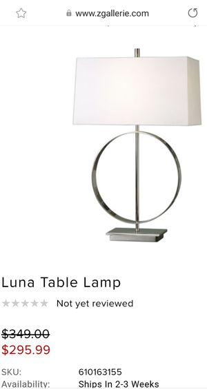 Decor zgallery lamps for Sale in Oregon City, OR
