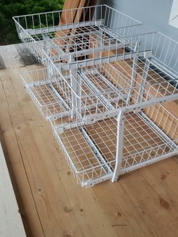 Under Cabinet Wire Track Drawers for Sale in Everett,  WA