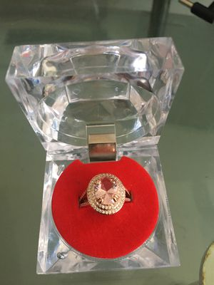 18k Rose Gold Plated 518 ct. Engagement Ring for Sale in Opa-locka, FL