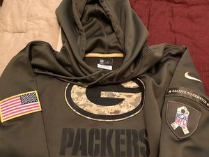 Nike Salute to Service Packers, vintage starter jacket for Sale in Phoenix, AZ