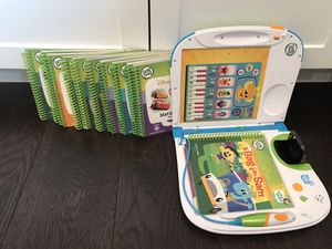 Leapfrog Leapstart learning system with books up to kindergarten level for Sale in Redondo Beach, CA