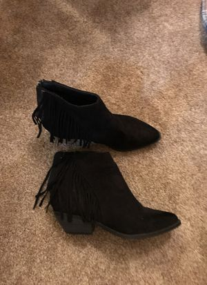 Black booties for Sale in San Dimas, CA