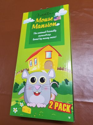 Humane Mouse Traps for catch and release. 2-Pack for Sale in Littlerock, CA